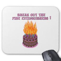 Birthday Cake On Fire  FIRE Birthday cake on FIRE