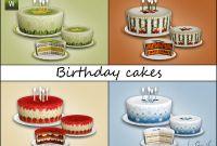 Birthday Cake Sims 4 Inspirational Gosik S Birthday Cakes