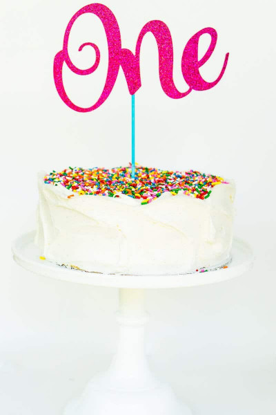 Birthday Cake Toppers  The Easiest Custom Birthday Cake Toppers You ll Ever Make