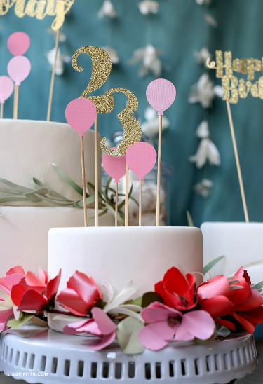 Birthday Cake toppers Luxury Birthday Cake toppers Lia Griffith