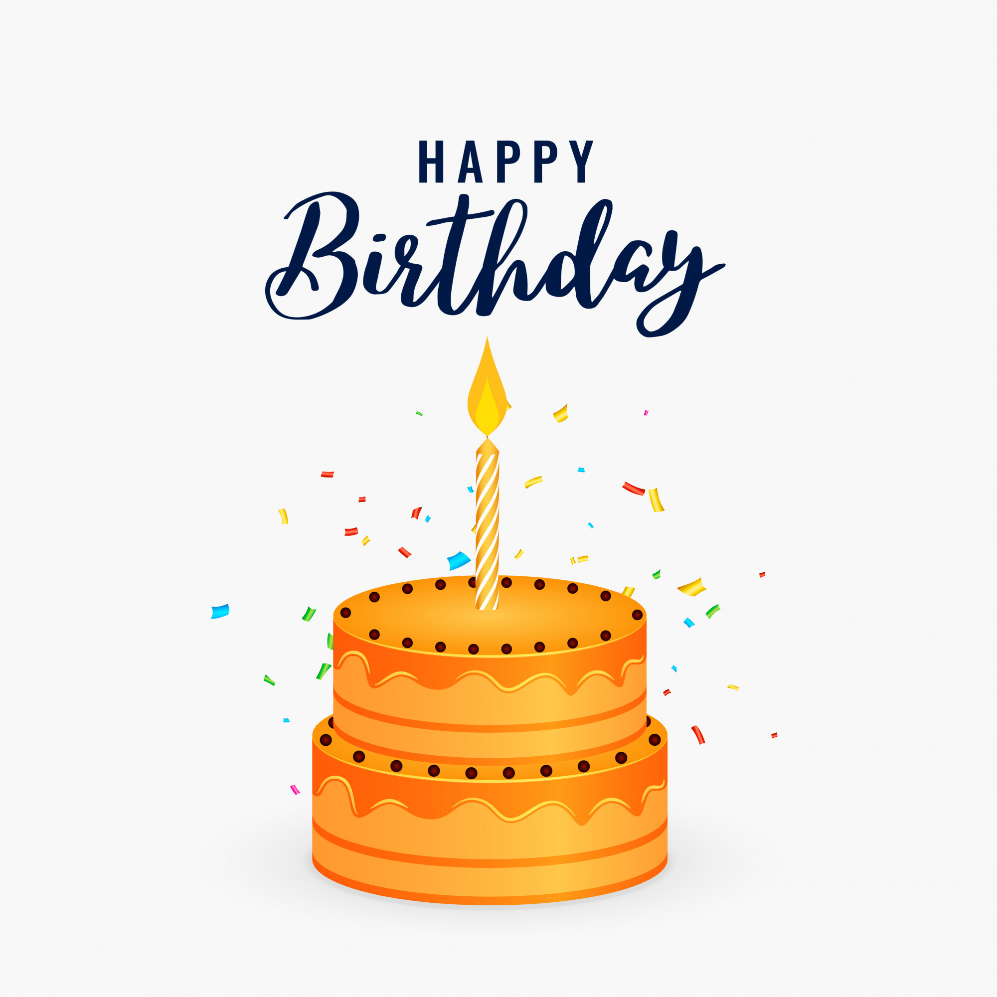 Birthday Cake Vector  Free Vector Birthday Background Free Downloads