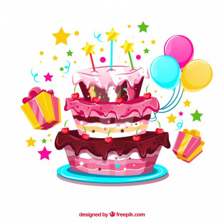 Birthday Cake Vector  Birthday Cake Vectors s and PSD files