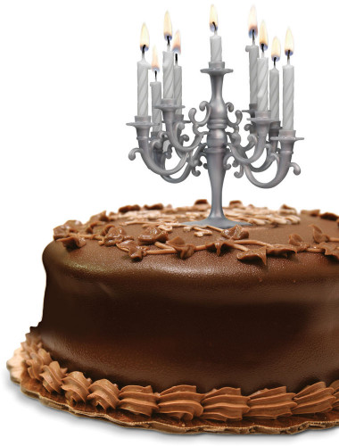 Birthday Cake With Candles  CAKE CANDELABRA BIRTHDAY CANDLE SET BY FRED AND FRIENDS