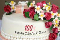 Birthday Cake with Name Elegant Name Birthday Cakes Write Name On Cake