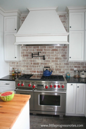 Brick Kitchen Backsplash Awesome Brick Backsplashes Rustic and Full Of Charm