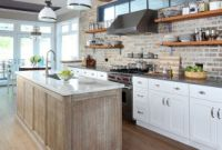 Brick Kitchen Backsplash Elegant 30 Super Practical and Really Stylish Brick Kitchen