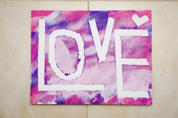 Canvas Paintings Ideas For Kids  Toddler Canvas Painting