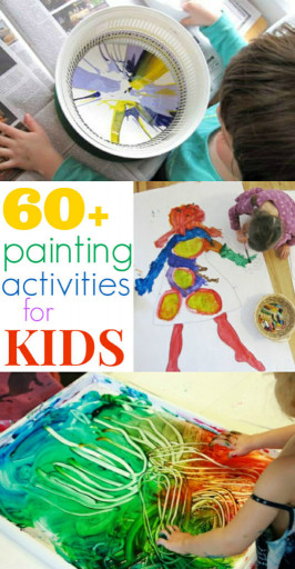 Canvas Paintings Ideas For Kids  Painting Activities for Kids 60 Ideas The Artful Parent