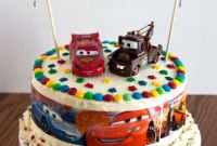 Cars Birthday Cake Awesome Cars Birthday Cake