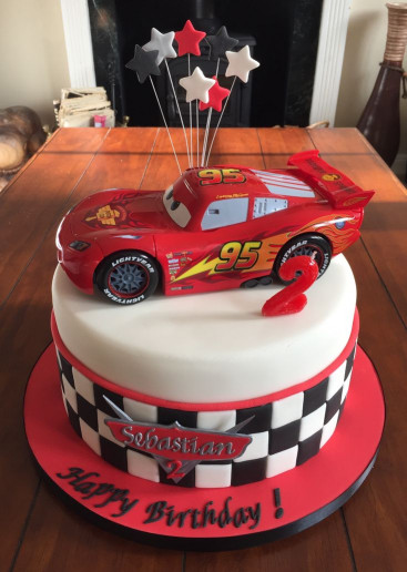 Cars Birthday Cake  Best 25 Mcqueen cake ideas on Pinterest
