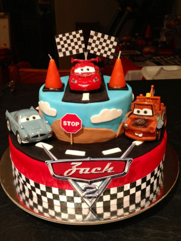 Cars Birthday Cake  17 Best ideas about Disney Cars Cake on Pinterest