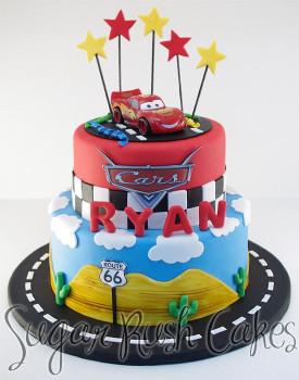Cars Birthday Cake  disney cars cake Google Search 4th birthday