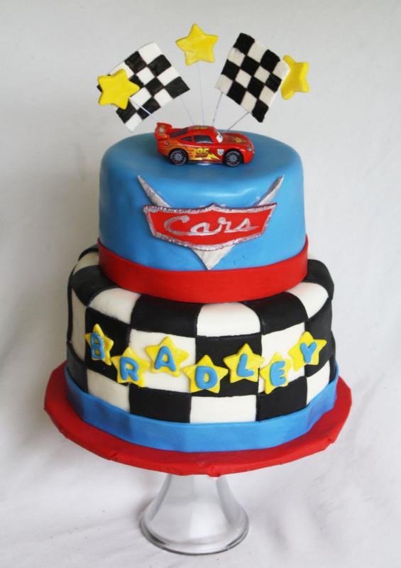 Cars Birthday Cake  A Disney Cars Cake
