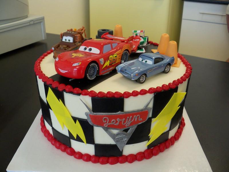 Cars Birthday Cake  Cars Cakes – Decoration Ideas
