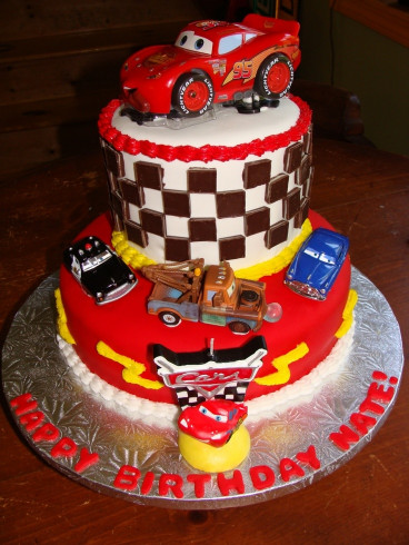 Cars Birthday Cake  17 Best images about 2nd birthday ideas on Pinterest