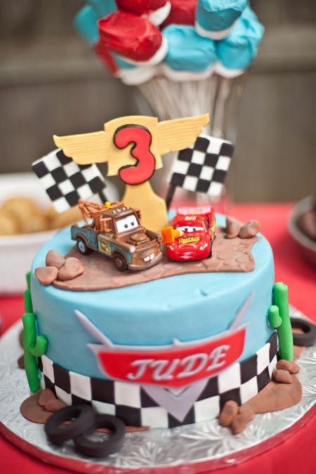 Cars Birthday Cake  Disney Cars Birthday Cake Landon already has both