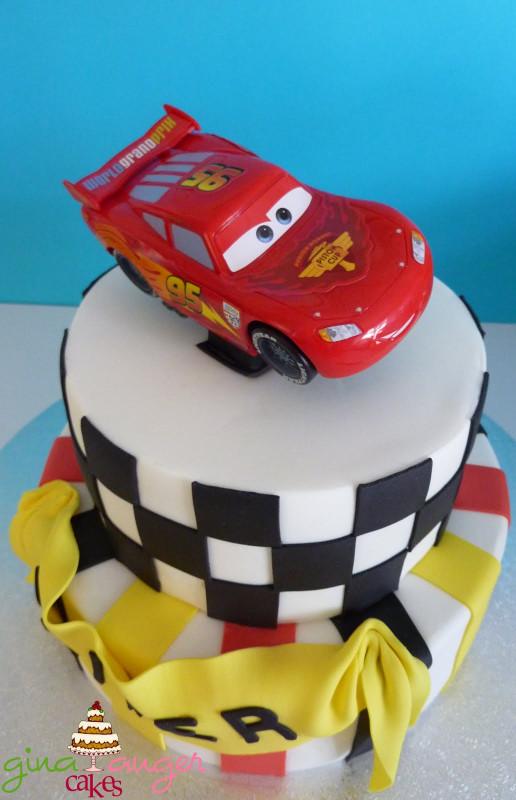 Cars Birthday Cake  Top That Cars 2 Inspired Birthday Cake