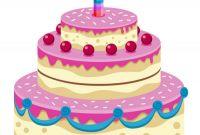 Cartoon Birthday Cake Luxury Animated Birthday Cake Gif Descargar