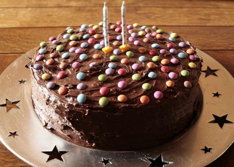 Chocolate Birthday Cake  Chocolate Birthday Cake