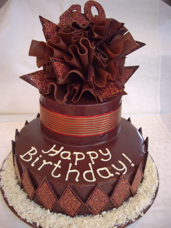 Chocolate Birthday Cake  Chocolate Cakes