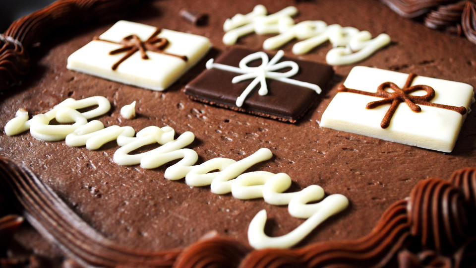 Chocolate Birthday Cake  Happy Birthday Cake