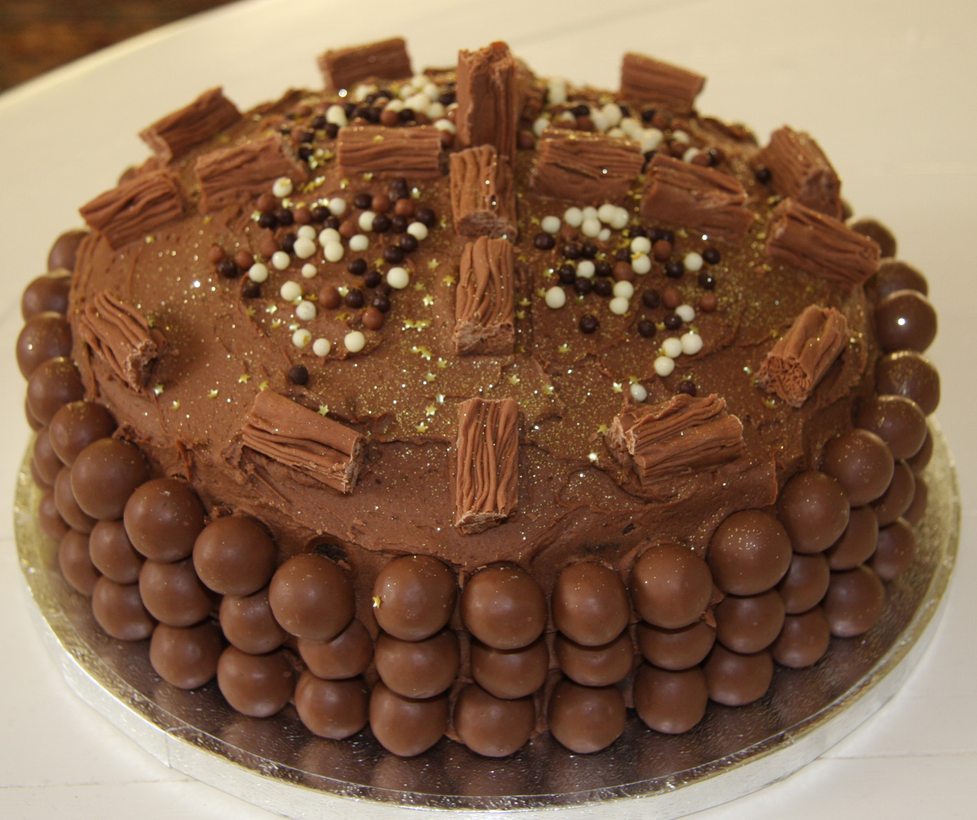 Chocolate Birthday Cake  Chocolate Birthday Cake – with extra chocolate