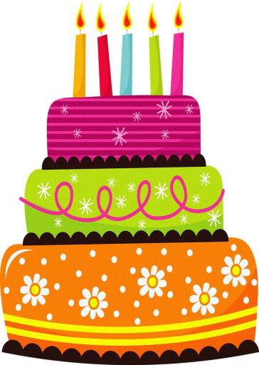Clipart Birthday Cake  Best 25 Birthday clipart ideas on Pinterest