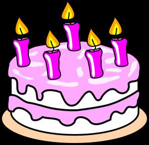Clipart Birthday Cake  Girl S Birthday Cake Clip Art at Clker vector clip