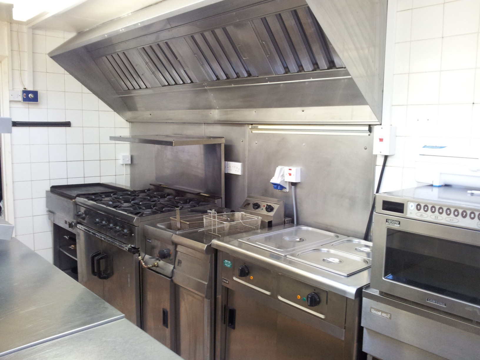Commercial Kitchen Design  Small Golf Club mercial Kitchen