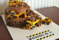Construction Birthday Cake Fresh Construction Birthday Cake Bits Of Everything