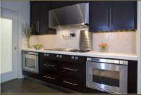 Contemporary Kitchen Backsplash Lovely Double Ovens Contemporary Kitchen