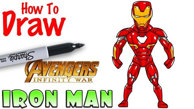 Cool Kids Art Elegant How to Draw Iron Man