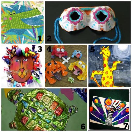 Cool Kids Art  Cool Art Projects Summer Time Fun for Kids Refunk My Junk