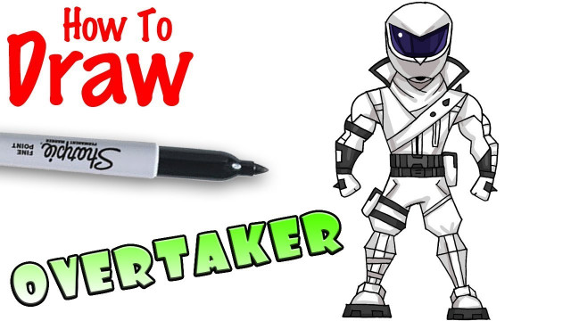 Cool Kids Art  How to Draw Overtaker