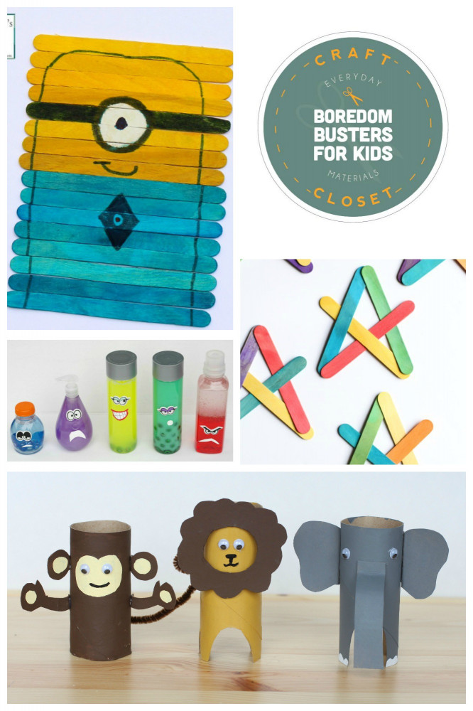 Craft Activities For Kids  25 Crafts and Activities for Kids Using Everyday