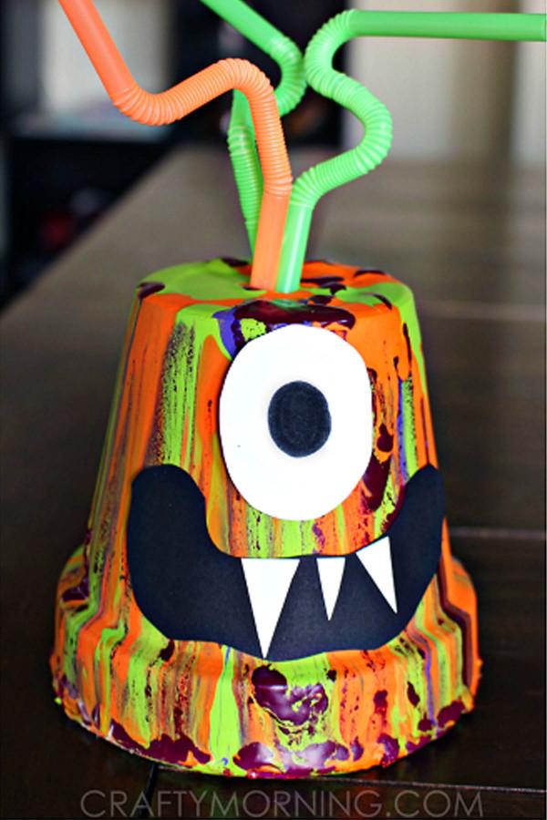 Craft For Kids  20 Easy Halloween Crafts for Kids Fun Halloween Craft