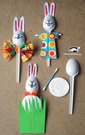 Craft For Kids  10 fun and easy Easter crafts with household objects