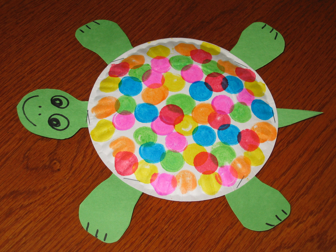 Craft Ideas For Kids With Paper  40 Fun and Fantastic Paper Plate Crafts