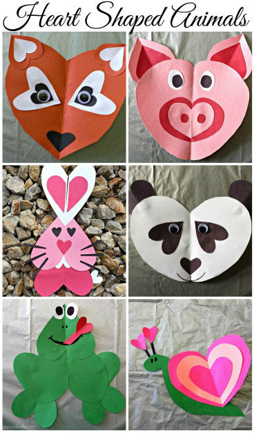 Craft Ideas For Kids With Paper  Valentine s Day Crafts The Idea Room