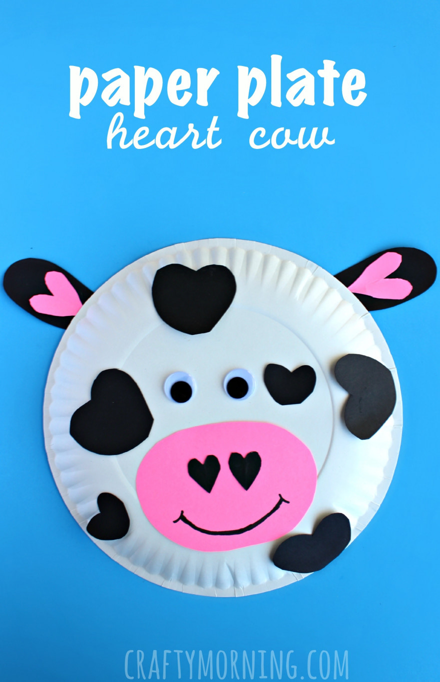 Crafts For Kids  15 Valentine Crafts For Kids The Xerxes