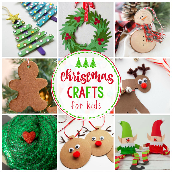 Crafts For Kids  25 Easy Christmas Crafts for Kids Crazy Little Projects