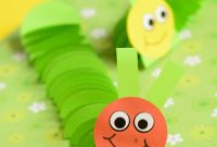 Crafts for Kids New Paper Caterpillar Craft Paper Circles Crafts Easy