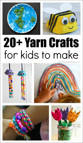 Crafts For Kids To Make  20 Absolutely Fantastic Yarn Crafts for Kids to Make