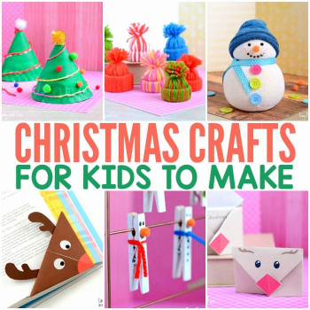 Crafts For Kids To Make  Christmas Crafts for Kids to Make Easy Peasy and Fun