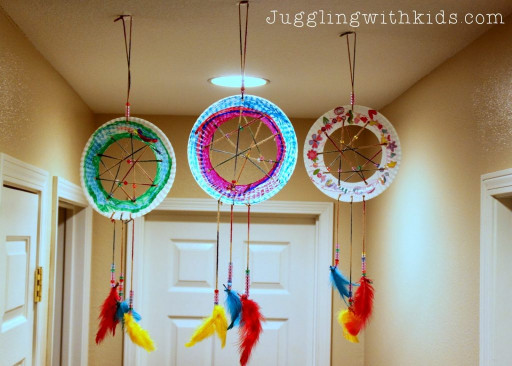 Crafts With Kids  The Ultimate Guide to Feathers and our Dream Catcher Craft