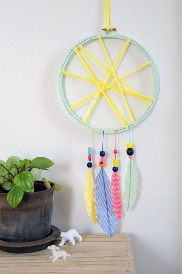 Crafts With Kids  Idées bricolage enfant ment fabriquer un attrape rêve