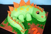 Dinosaur Birthday Cake Beautiful butter Hearts Sugar Dinosaur Birthday Cake