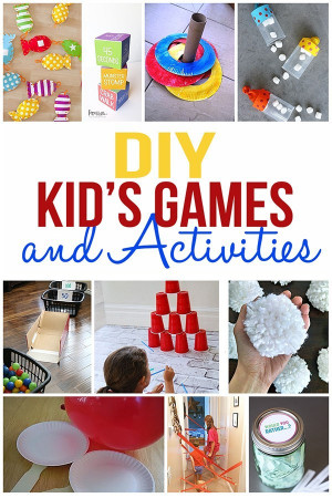 DIY Activities For Kids  DIY Kids Games and Activities for Indoors or Outdoors
