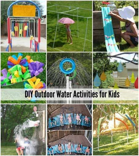 DIY Activities For Kids  DIY Backyard Ideas for Kids The Idea Room