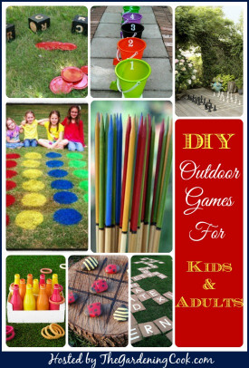 DIY Activities For Kids  Outdoor Games for Kids and Adults The Gardening Cook